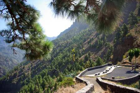 La Cancelita Viewpoint, Los Llanos, La Palma, Canary Islands