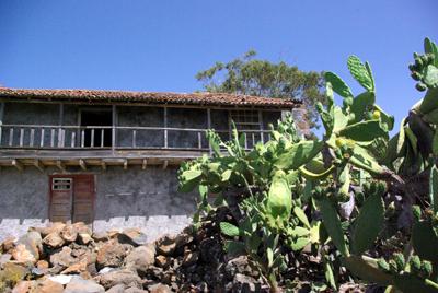 The church hall of St Mauro, Puntagorda, La Palma.