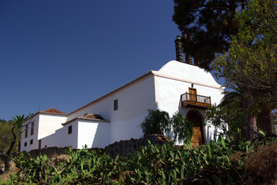 The church of St Mauro, Puntagorda, La Palma.