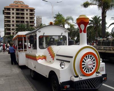 Road train, Santa Cruz de la Palma