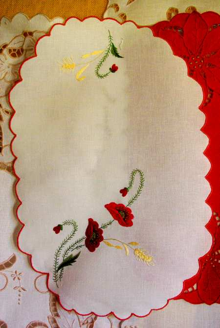 Traditional embroidery, La Palma island