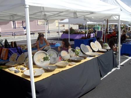 Local market at Los Cancajos, Breña Baja, La Palma