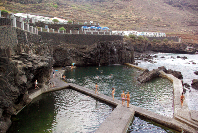 La Fajana salt water swimming pools, Barlovento, La Palma, CanaryIslands