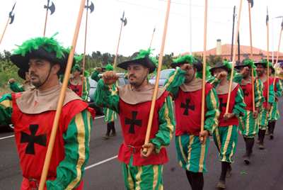 Christian victors, Battle of Lepanto, Barlovento, La Palma