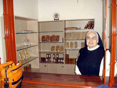 The shop of the Convent of the Holy Trinity, Brena Alta