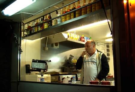Puntagorda fiesta, La Palma: The last bar open