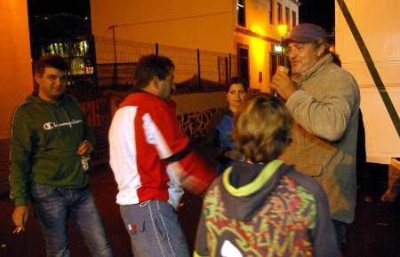 Puntagorda fiesta: the last few revelers