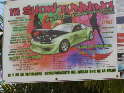 poster for tuning cars