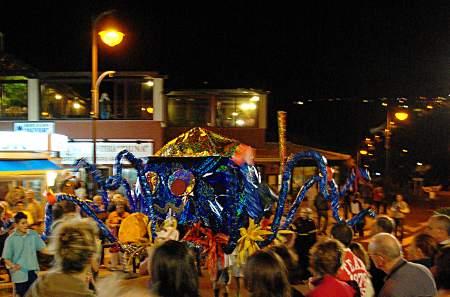 The octopus's funeral procession, Los Cancajos, Breña Baja, La Palma