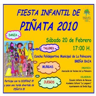 Children's Carnival party, La Polvacera, Breña Baja, La Palma