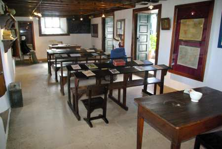 School room at Casa Lujan, Puntallana