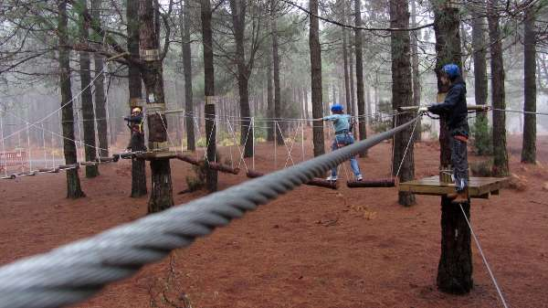 Rope walk, Acropark, Breña Alta, LaPalma